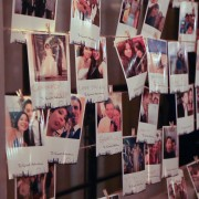 Mini-Clothespins and Wooden Photo Rack Rental
